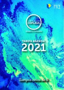 Tarifa Suministros Coplasa 2021
